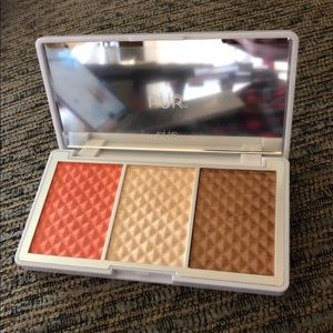 Pur Bronze & Brighten Cheek Palette